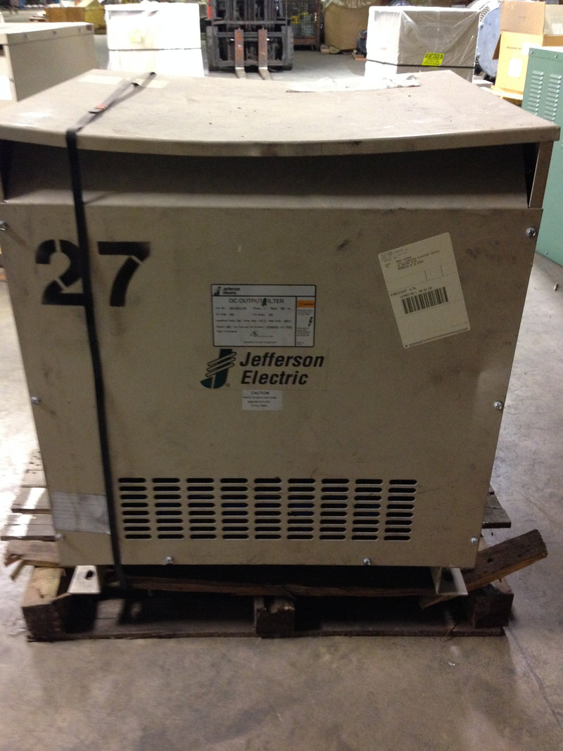 Jefferson Electric DC Output Filter	  300-5053-106 360 Hz Volts 500 Amps 250 - Elevator Parts - Metal Logics, Inc. - 2
