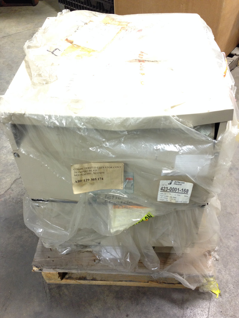 Jefferson Electric Dry Type Drive Isolation Transformer 423-0001-168 KVA 34 - Transformers - Metal Logics, Inc. - 5