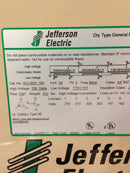 Jefferson Electric Dry Type Drive Isolation Transformer 423-0001-168 KVA 34 - Transformers - Metal Logics, Inc. - 8