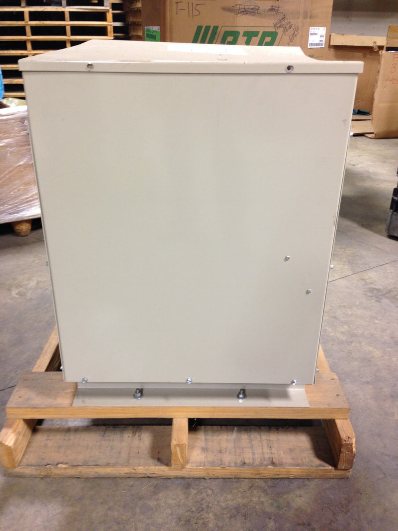Jefferson Electric Dry Type Drive Isolation Transformer 423-E001-116 KVA 63 - Transformers - Metal Logics, Inc. - 2