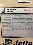 Jefferson Electric Dry Type Drive Isolation Transformer 423-E001-116 KVA 63 - Transformers - Metal Logics, Inc. - 3