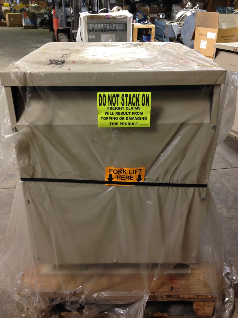 Jefferson Electric Dry Type Drive Isolation Transformer 423-0001-536 KVA 27 - Transformers - Metal Logics, Inc. - 7