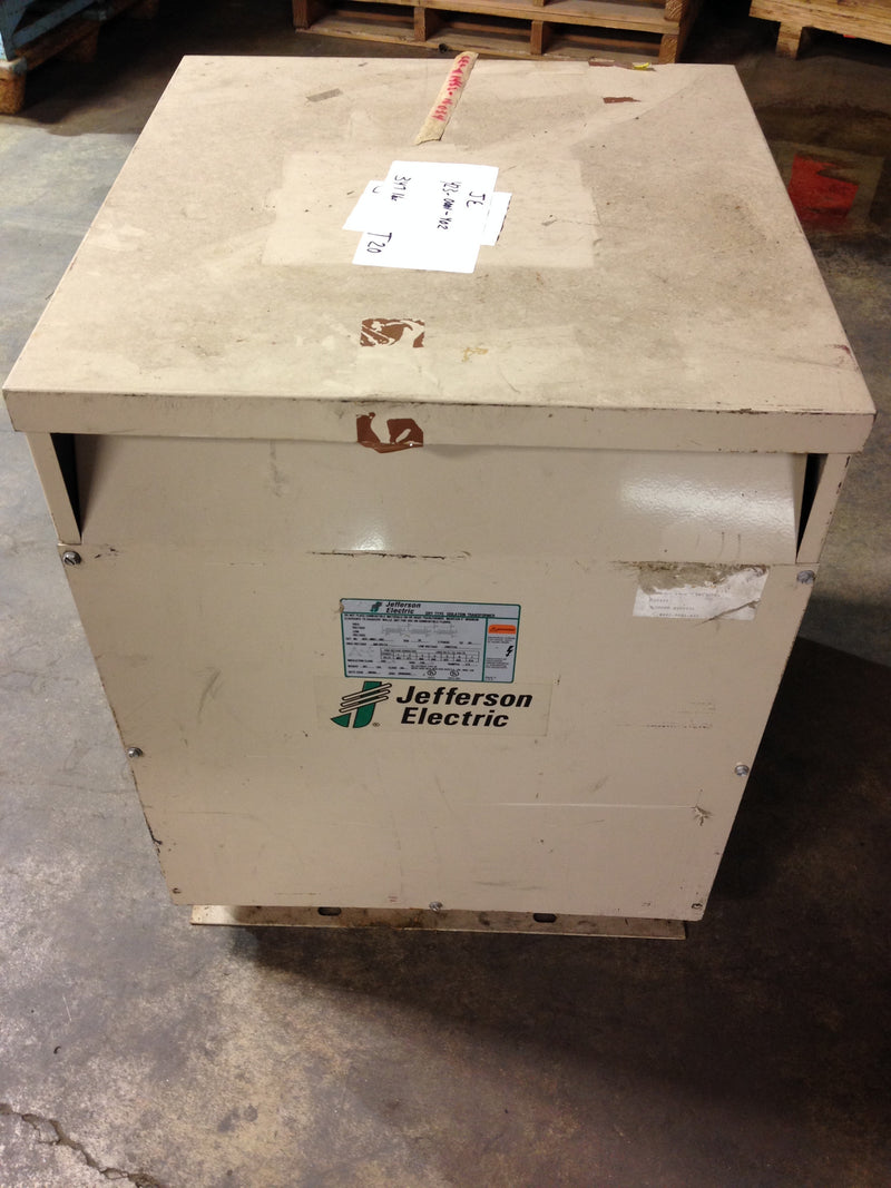 Jefferson Electric Dry Type Drive Isolation Transformer	 423-0001-402 T20 KVA 34 - Transformers - Metal Logics, Inc. - 3