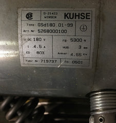 ThyssenKrupp ASM 3-phase Gearless Motor - Motors - Metal Logics, Inc. - 3