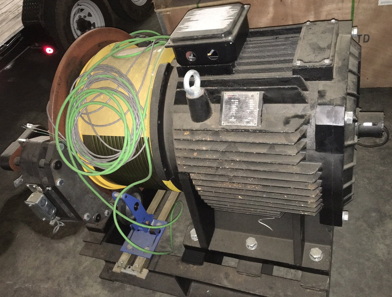 Torin Drive Elevator Traction Machine Type TGL1-3570 - Motors - Metal Logics, Inc. - 3