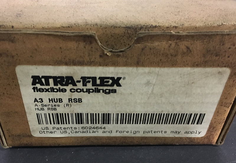 Atra Flex A3 HUB RSB - Couplings - Metal Logics, Inc. - 2