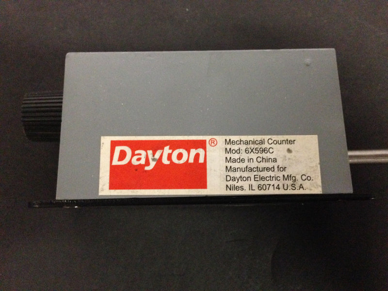 Dayton Mechanical Counter 6X596C - Accessories - Metal Logics, Inc. - 2