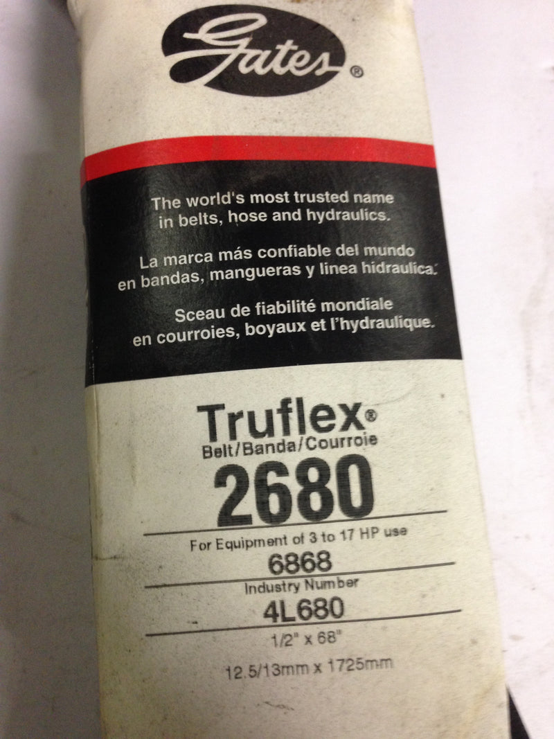 Gates Truflex  Model 2680 - Belts - Metal Logics, Inc. - 2