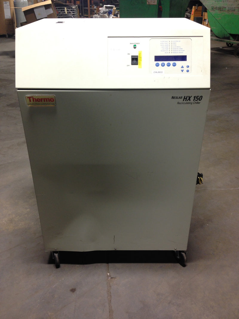 Thermo Electron Neslab HX150 HX-150 Refrigerated Recirculating Chiller
