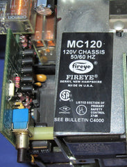 Fireye MC120 Chasis with MP100 Programmer - Electrical Equipment - Metal Logics, Inc. - 3