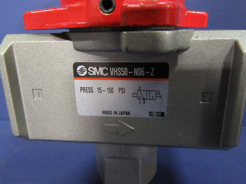 SMC Lock Out Valve VHS50-N06-Z - Valves - Metal Logics, Inc. - 2