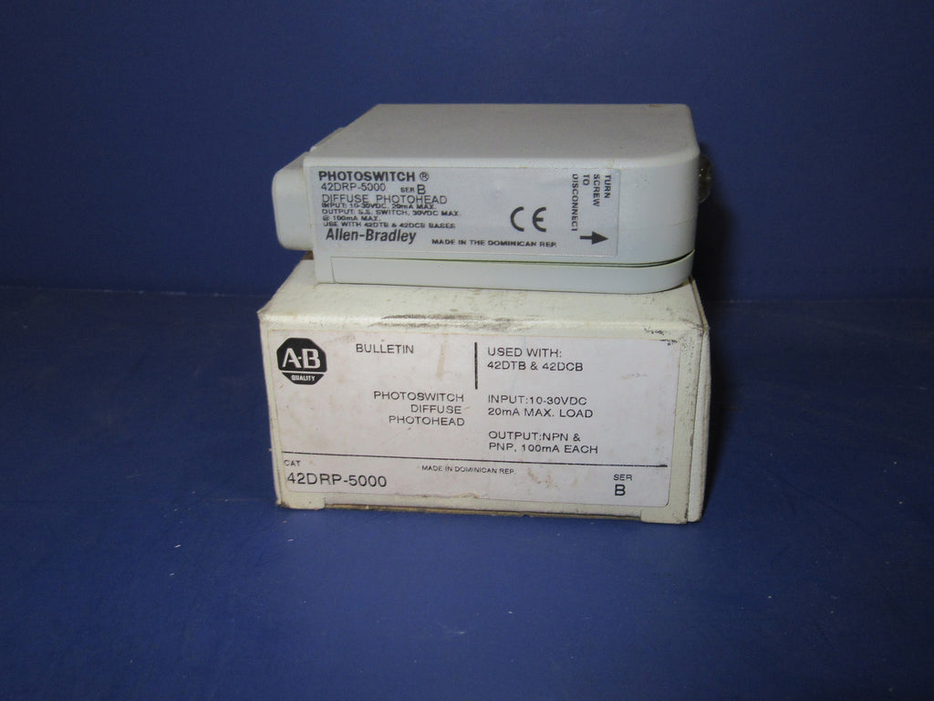 Allen Bradley Photoswitch 42DRP-5000 - Electronics - Metal Logics, Inc. - 1
