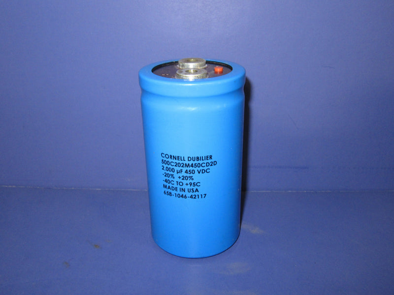 Cornell Dubilier Capacitor 2000 uF - Accessories - Metal Logics, Inc.