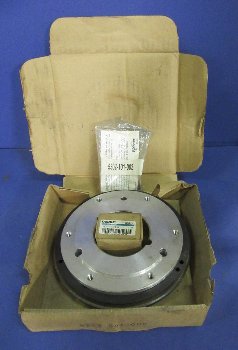 Warner Electric Clutch 5302-541-002 - Accessories - Metal Logics, Inc. - 1