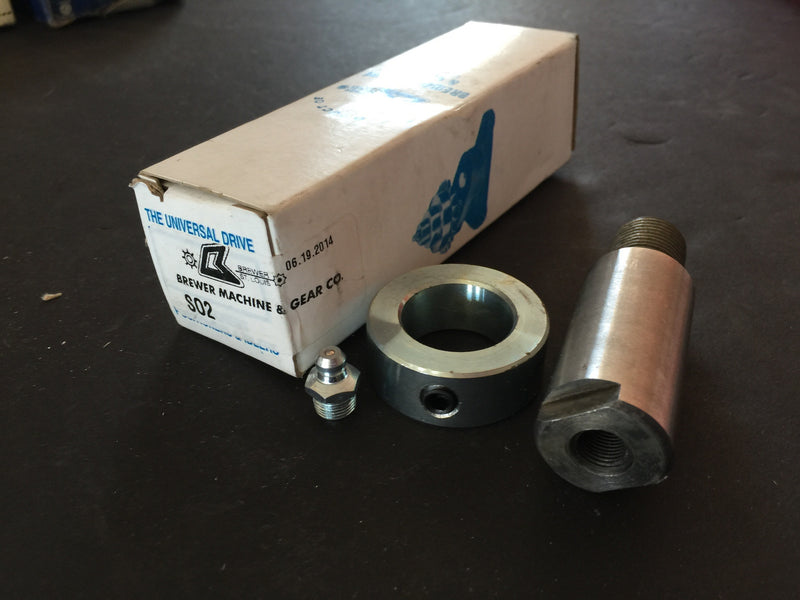 BREWER MACHINE AND GEAR S02 IDLER SHAFT - Accessories - Metal Logics, Inc.