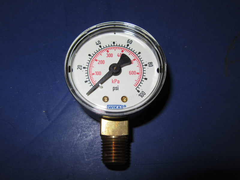 WIKA 111.10 Pressure Gauge 8990357 - Accessories - Metal Logics, Inc. - 1