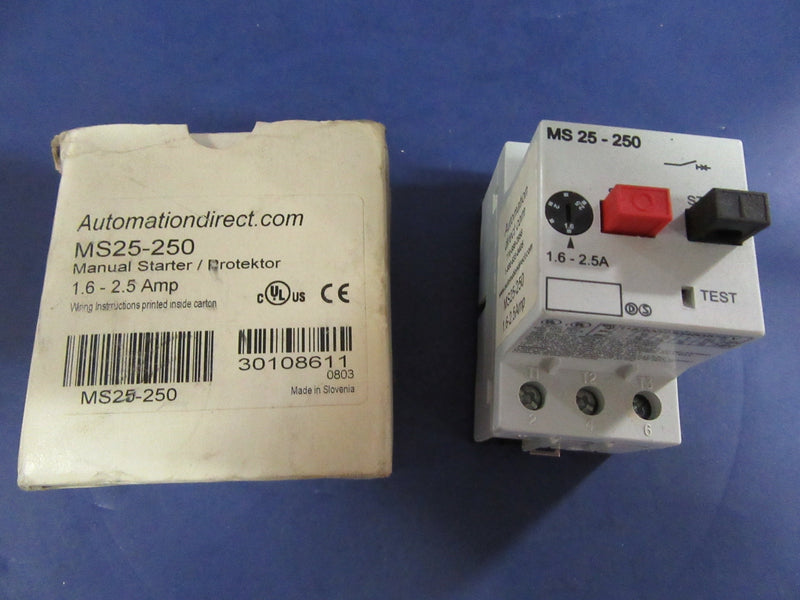 Automation Direct Manual Starter MS25-250