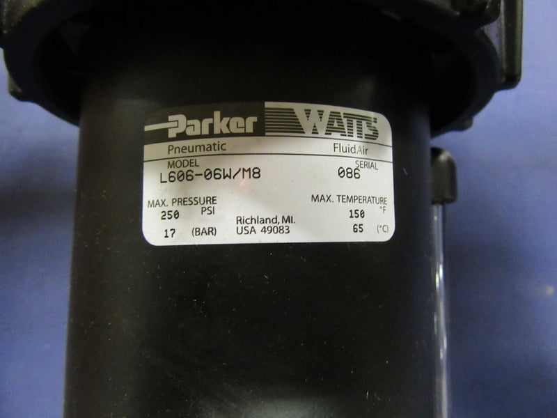 Parker Pneumatic L606-06W/M8 - Accessories - Metal Logics, Inc. - 2