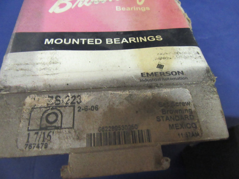 Browning Mounted Bearings 1 7/16 VTBS-223 - Bearing - Metal Logics, Inc. - 4