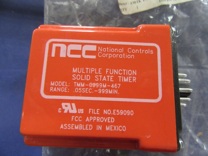 National Controls Corporation Timer TMM-0999M-467 - Accessories - Metal Logics, Inc. - 1