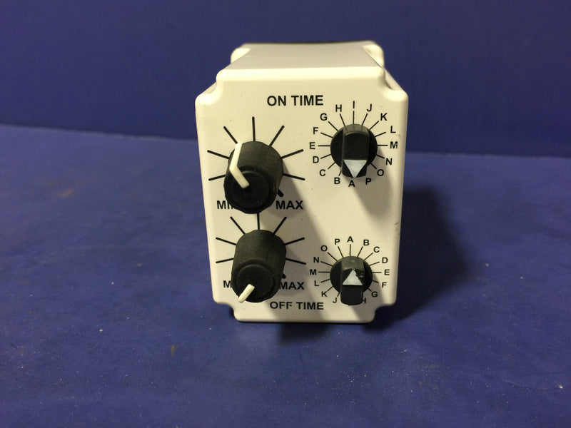 MACROMATIC TIME DELAY RELAY TR-65122 120V - Relays - Metal Logics, Inc. - 1