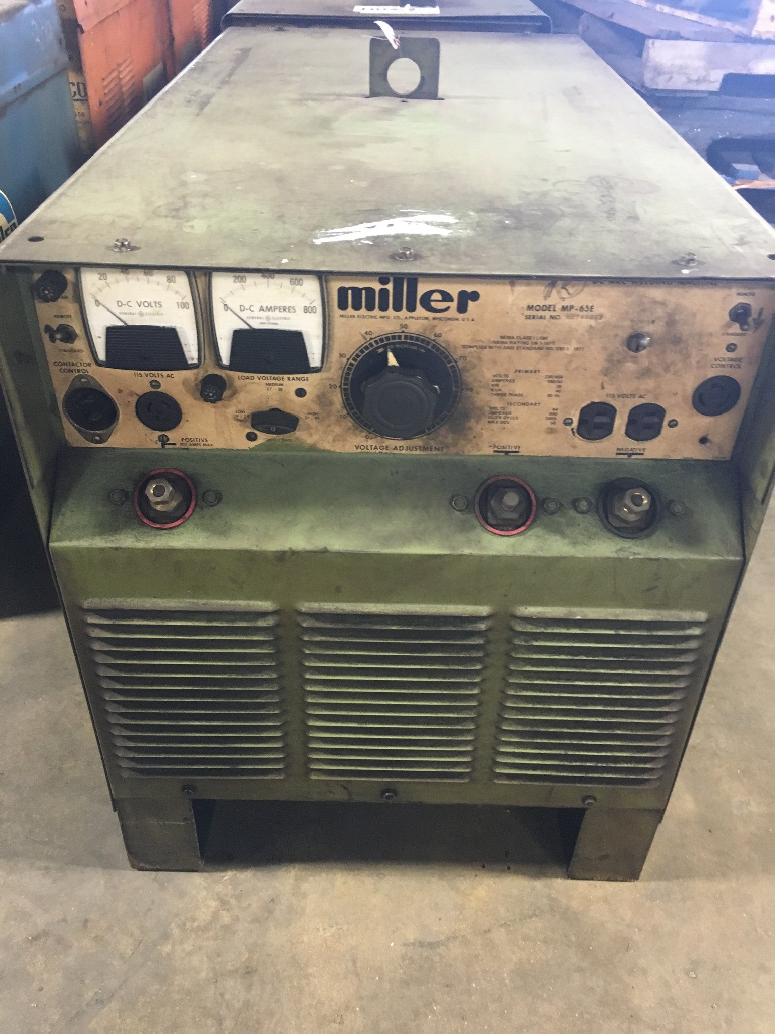Miller Welder 3 Phase 230/460 Volts