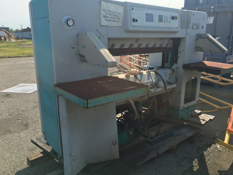 Perfecta Schneidsysteme Paper Shear ***For Parts*** - Machinery - Metal Logics, Inc. - 1
