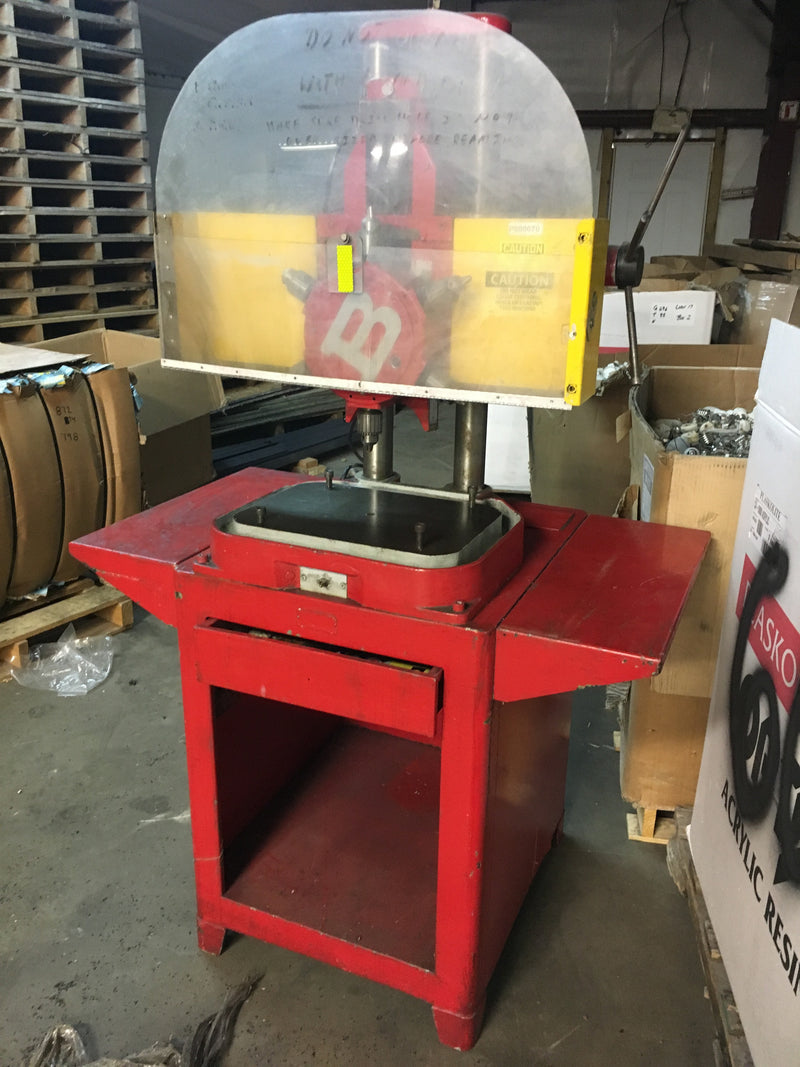 Burgmaster Turret Drill Press - Machinery - Metal Logics, Inc. - 4