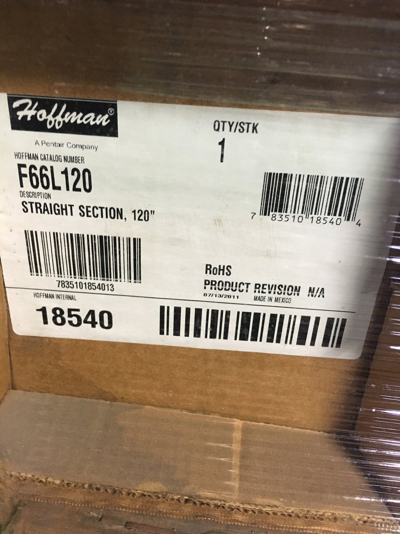"Hoffman Straight Section 120"" - Accessories - Metal Logics, Inc. - 3"