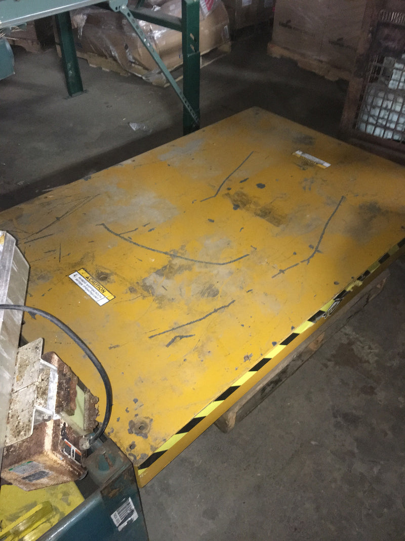 ECDA 10,000 lb Capacity Power Lift Table