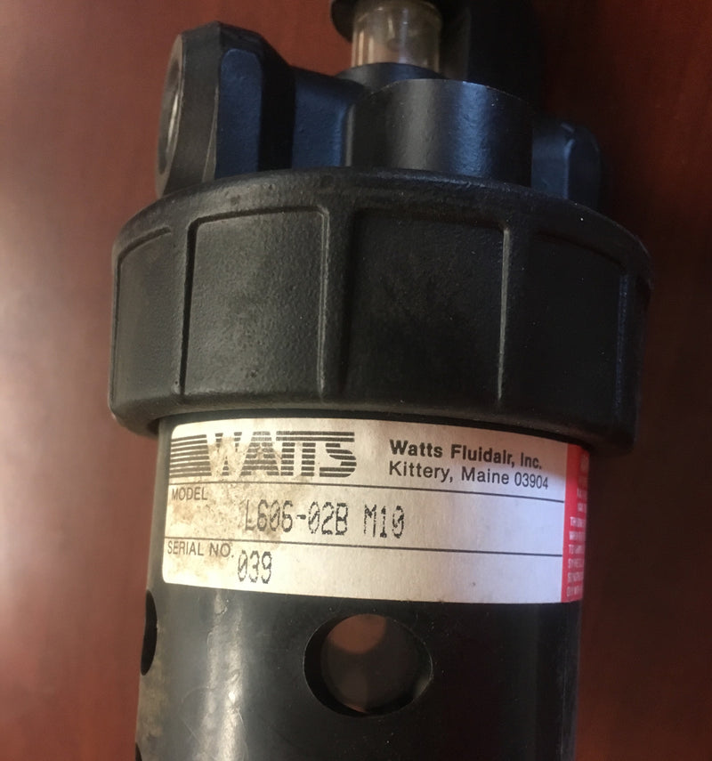 Watts Lubricator L606-02B M10 - Accessories - Metal Logics, Inc. - 2