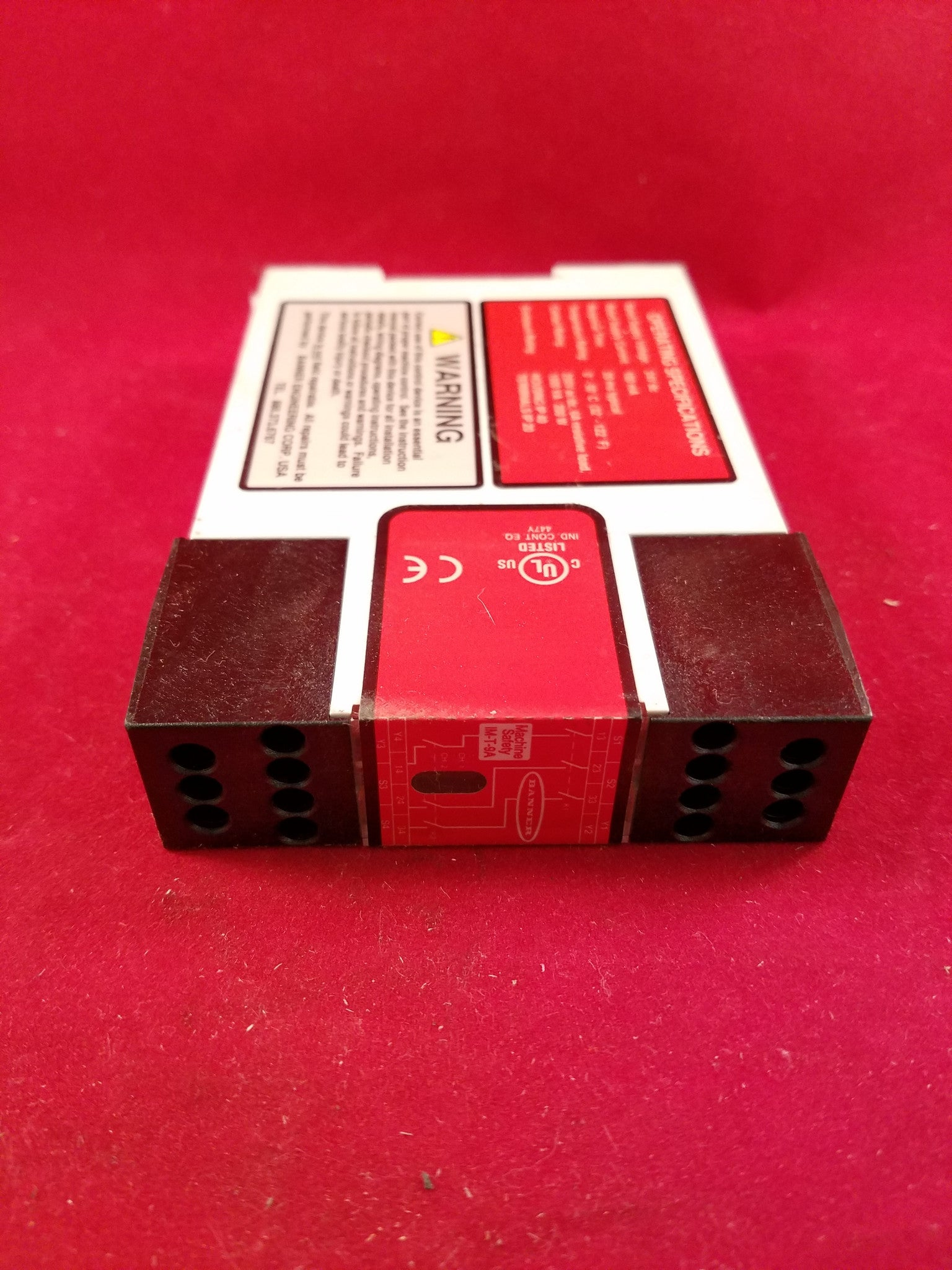 Banner Interface Module Relay #61425 IM-T-9A on