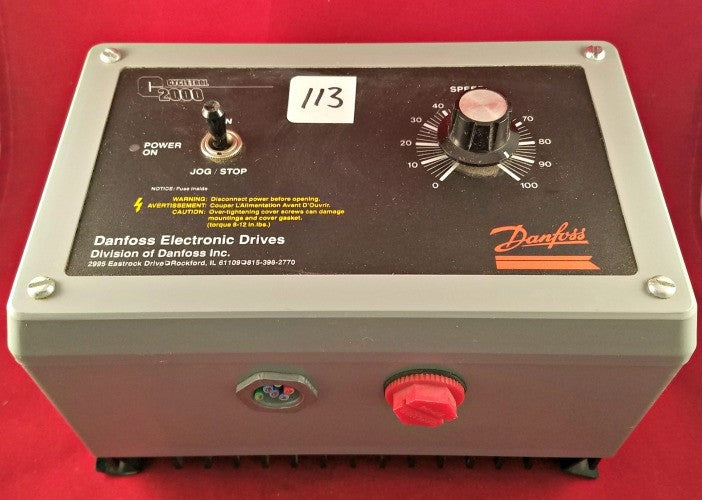 Danfoss Cycletrol 2000 Electronic Drive - Used - Electrical Equipment - Metal Logics, Inc. - 2