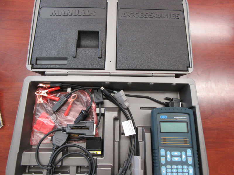 OTC Scan Tool Enhanced Monitor 3352 with Accessories