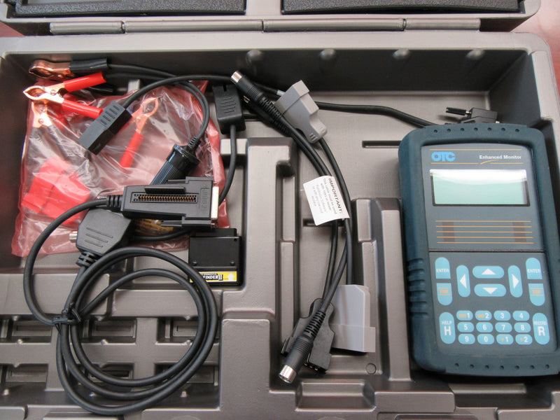 OTC Scan Tool Enhanced Monitor 3352 with Accessories - Auto Accessories - Metal Logics, Inc. - 3