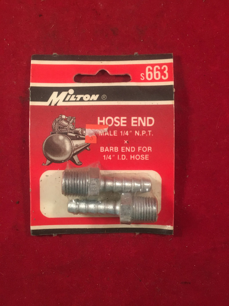 Milton Hose End S663 - Auto Accessories - Metal Logics, Inc. - 1