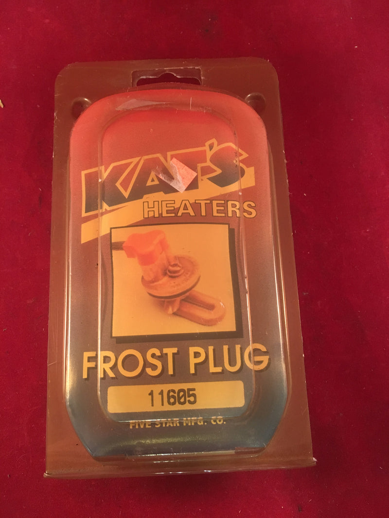 Kat's Heaters Frost Plug 11605 - Auto Accessories - Metal Logics, Inc. - 1