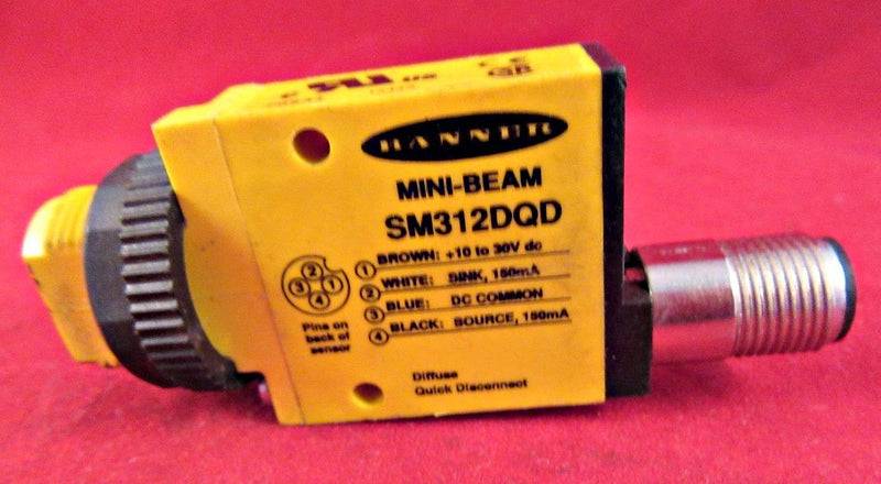 Banner Mini-Beam SM312DQD - Sensors And Switches - Metal Logics, Inc. - 5