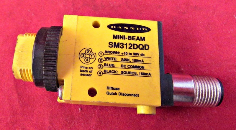 Banner Mini-Beam SM312DQD - Sensors And Switches - Metal Logics, Inc. - 1