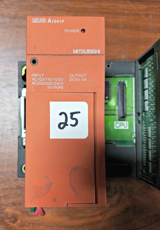 Mitsubishi Melsec Power Supply A1S61P with Output Unit A1SY41 - Electrical Equipment - Metal Logics, Inc. - 2