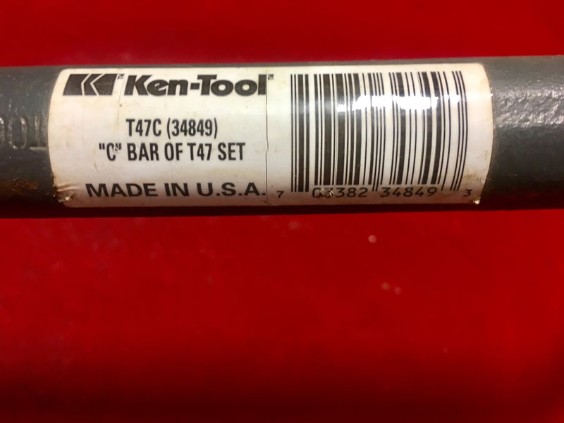 "Ken-Tool Tire Iron T47C (34849) ""C"" Bar of T47 Set - Auto Accessories - Metal Logics, Inc. - 2"