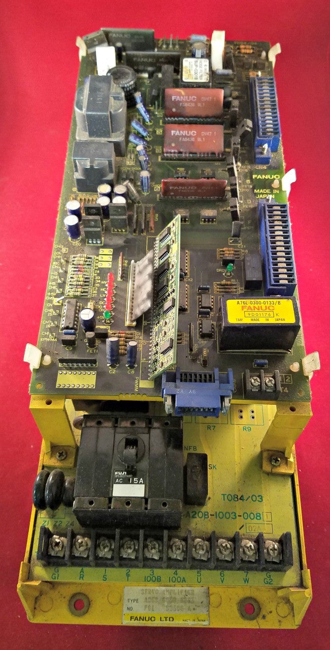 Fanuc A06B-6058-H005 Servo Amplifier - Electrical Equipment - Metal Logics, Inc. - 1