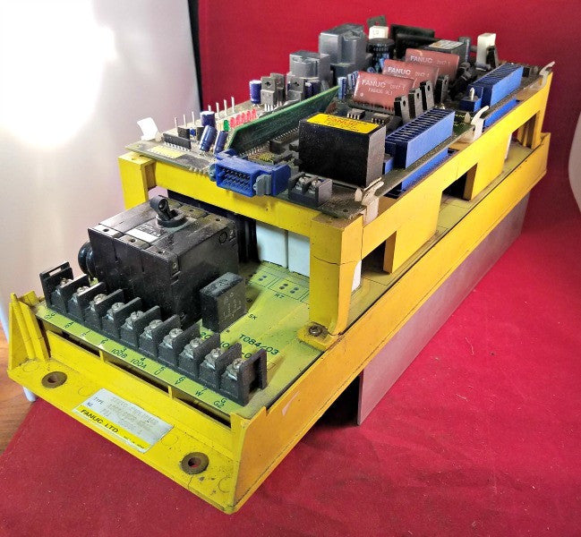 Fanuc A06B-6058-H005 Servo Amplifier - Electrical Equipment - Metal Logics, Inc. - 9