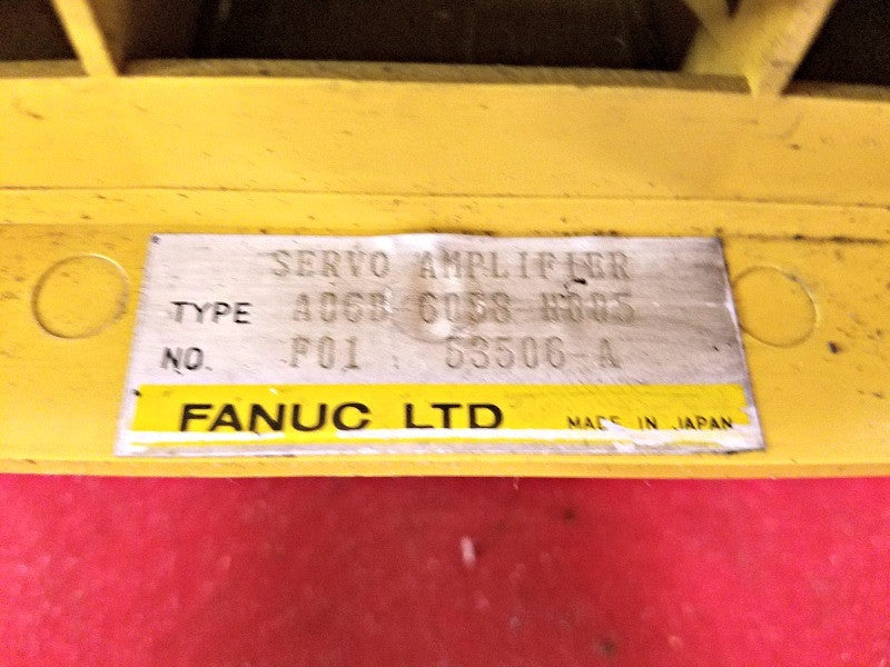 Fanuc A06B-6058-H005 Servo Amplifier - Electrical Equipment - Metal Logics, Inc. - 2