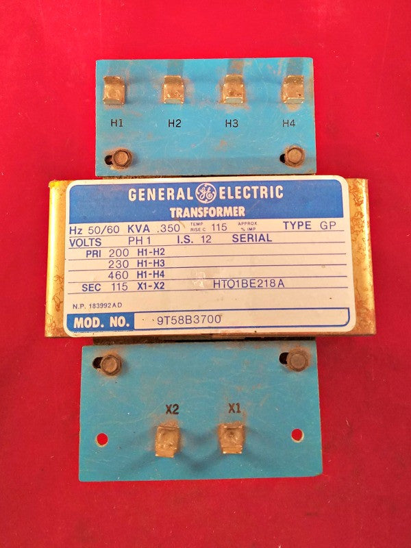GE Transformer Model 9T58B3700 - Transformers - Metal Logics, Inc. - 1