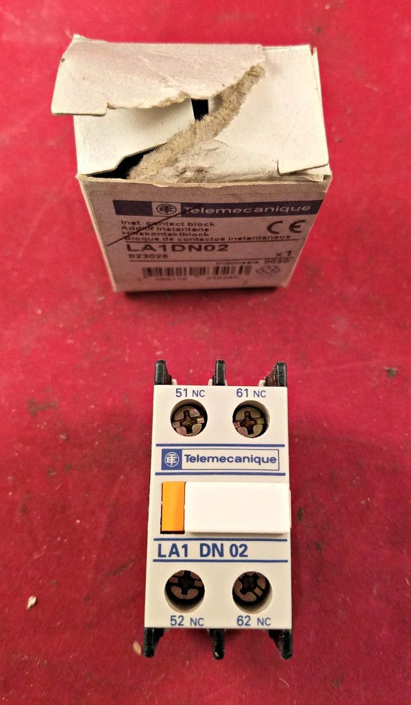 Telemacanique LA1DN02 Inst. Contact Block