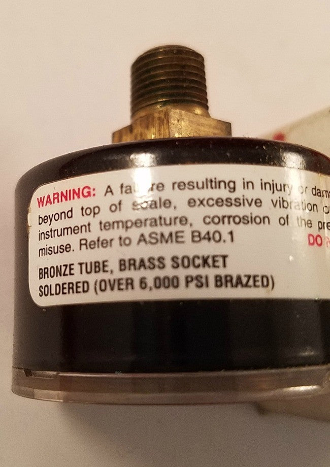 Weiss Instruments 1BD Guage 0-15 PSI - Electrical Equipment - Metal Logics, Inc. - 3