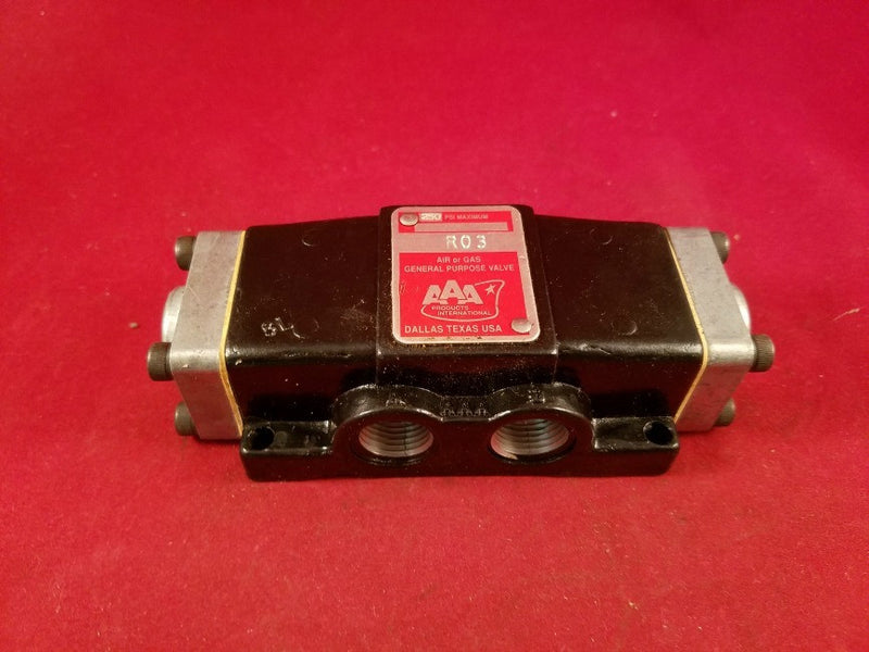 AAA Air or Gas General Purpose Valve R03 - Valves - Metal Logics, Inc. - 4
