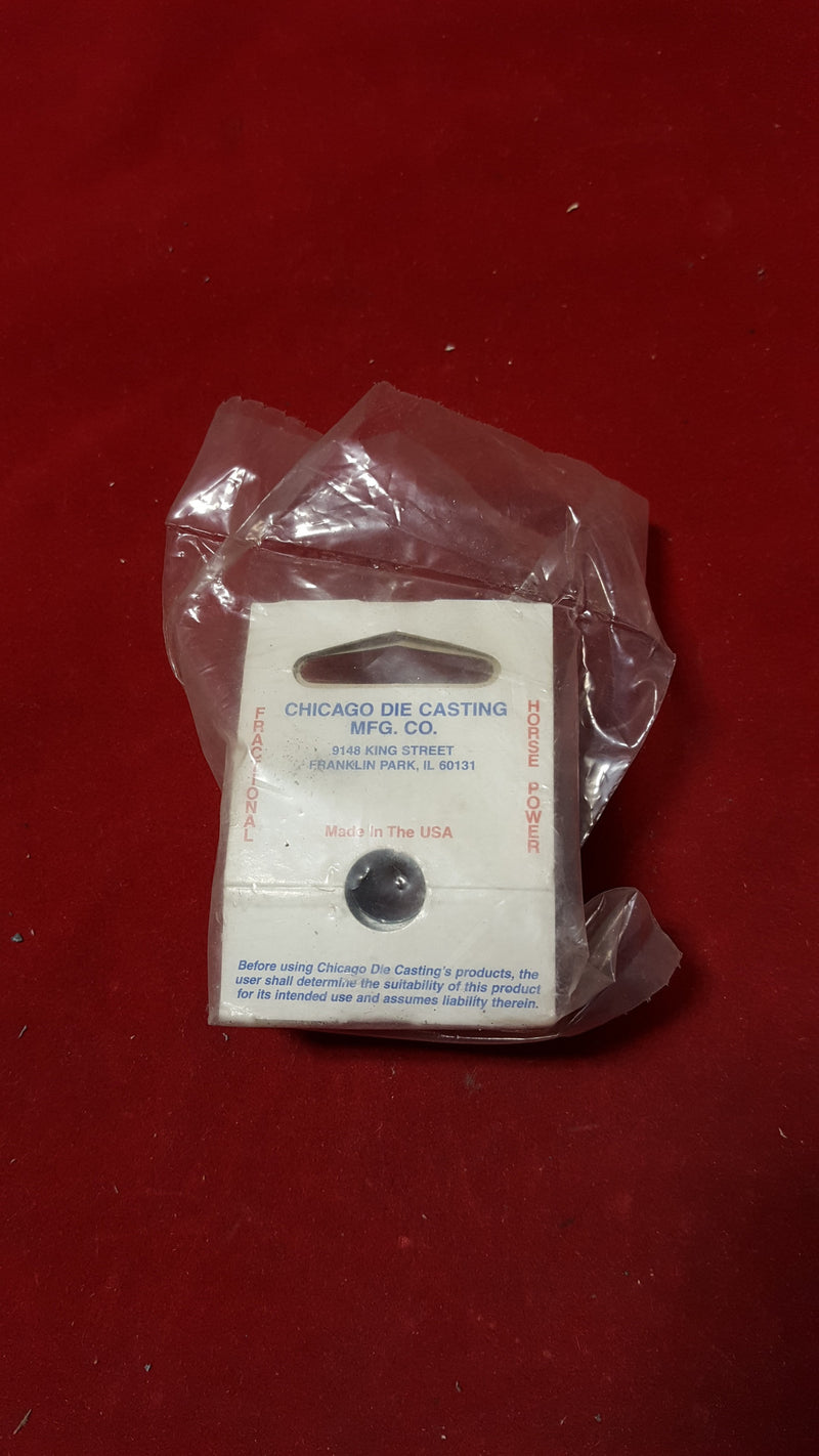 "Chicago Die Cast Pulley 150-A 1-1/2"" D 1/2"" B - Small Parts - Metal Logics, Inc. - 2"