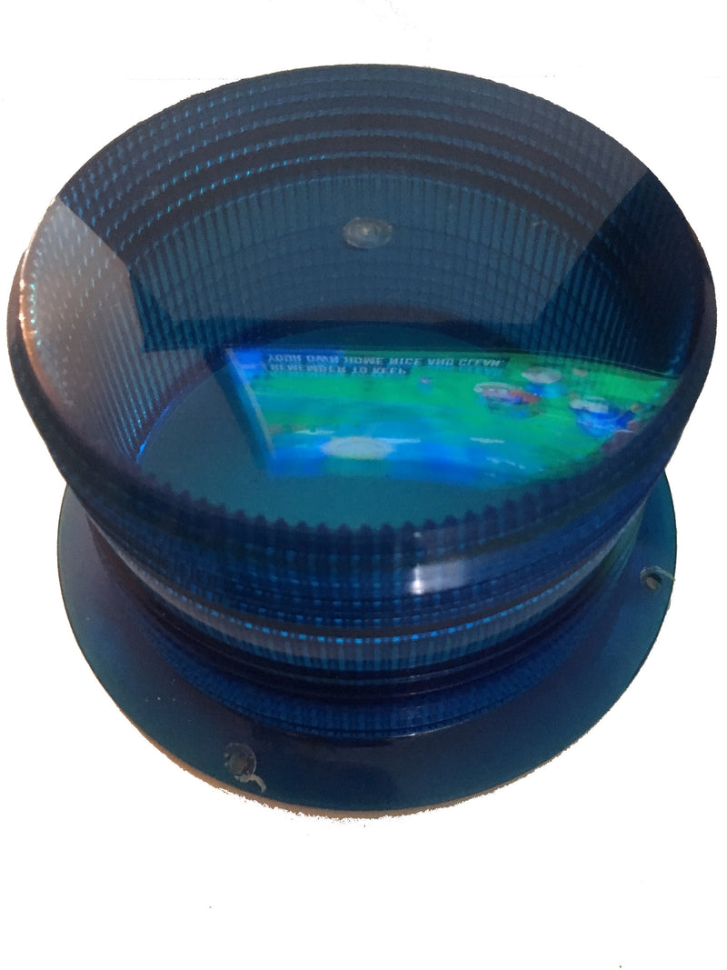 Federal Signal Replacement Lens Blue 200767-95 - Auto Accessories - Metal Logics, Inc. - 2
